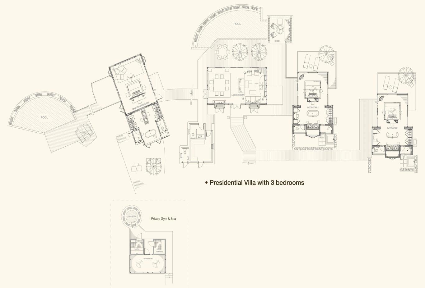 Presidential Villa Floorplan