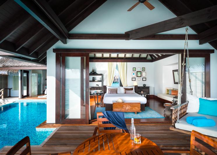 Over Water Villa Deck