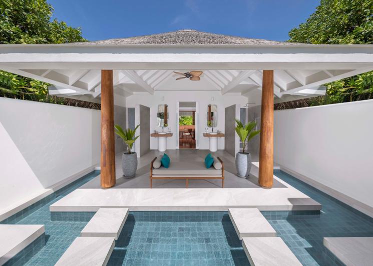 Beach Pool Residence Bathroom
