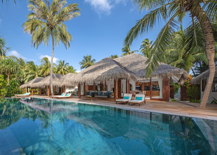 Three Bedroom Beach Pool Residence Swimming Pool