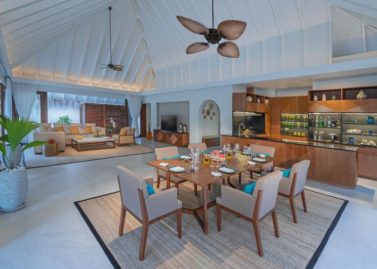 Beach Pool Residence Living Room