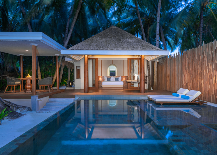 Four Bedroom Beach Pool Residence Swimming Pool Master Bedroom View