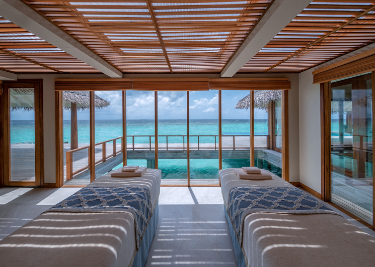 Two bedroom sunset over water pool residence spa