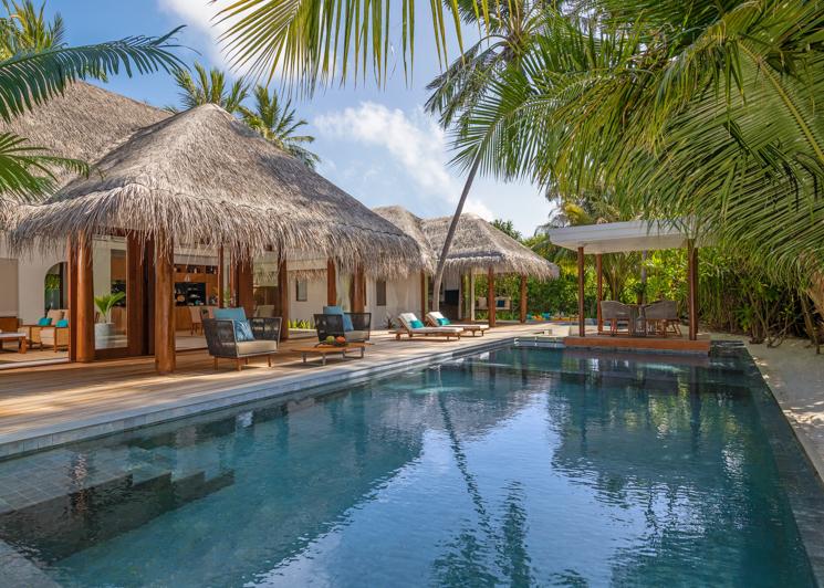 Two Bedroom Beach Pool Residence Swimming Pool