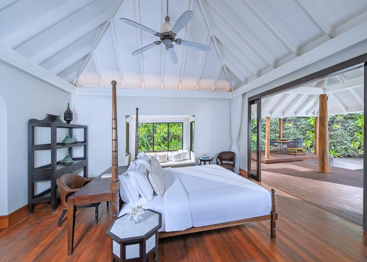 Villas Guest Room beach pool villa bedroom
