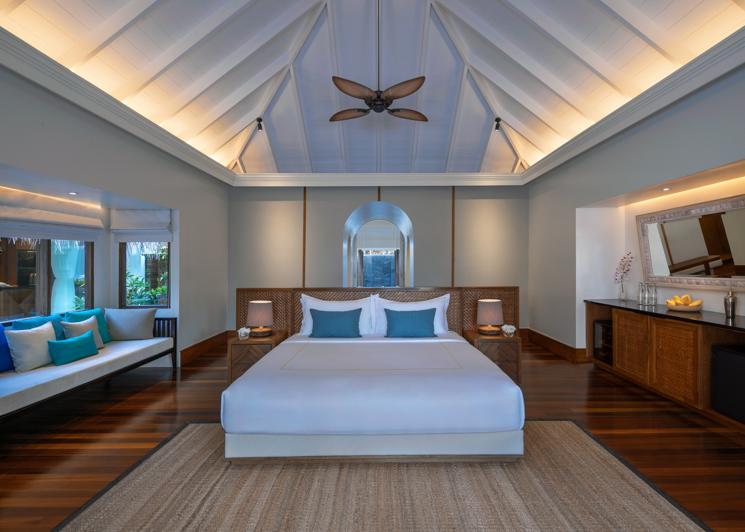 Beach Pool Residence Master Bedroom