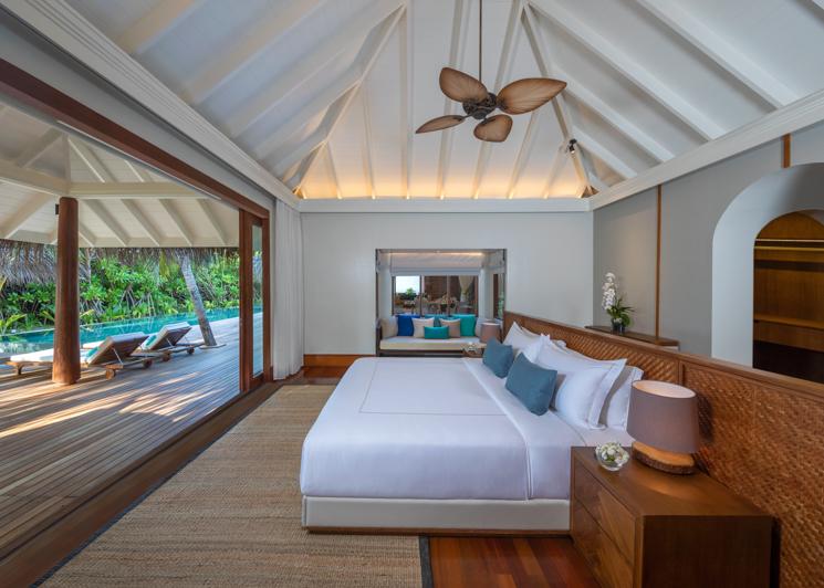 Three Bedroom Beach Pool Residence MasterBedroom