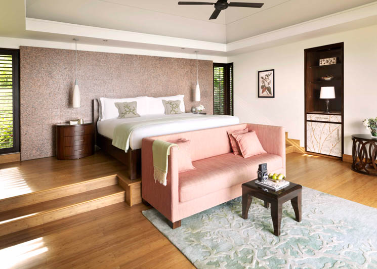 Panoramic Pool Villa bedroom