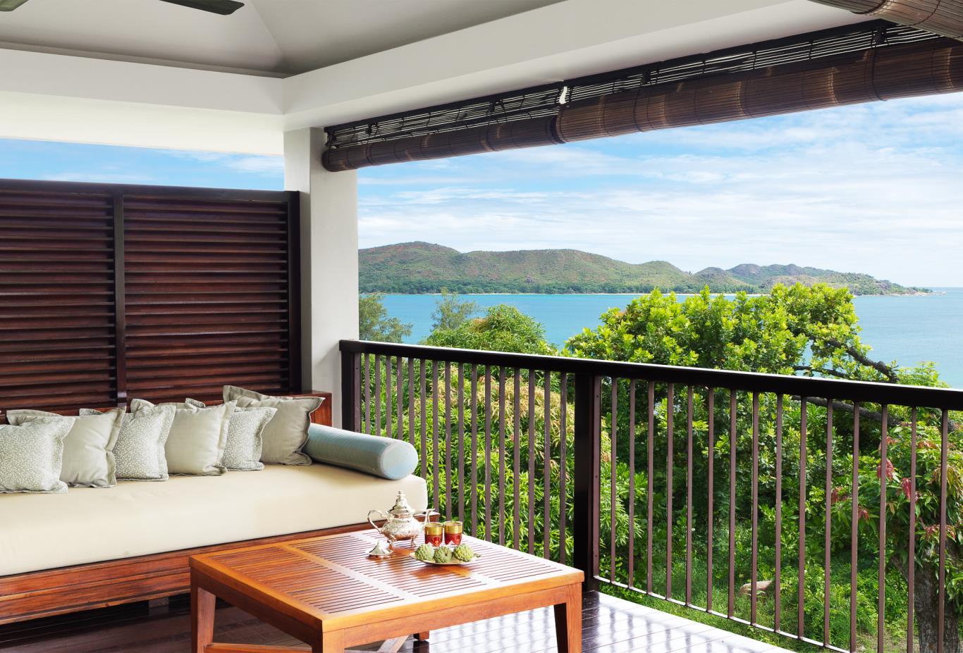 One Bed Ocean View Villa balcony