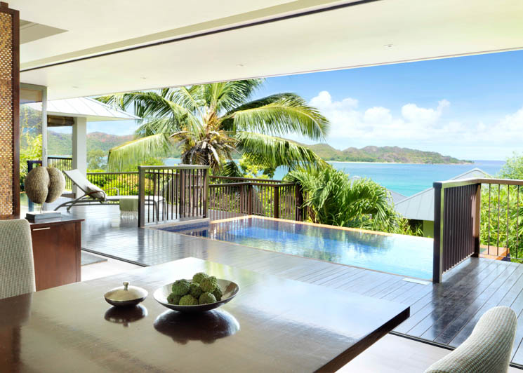 One bed ocean view