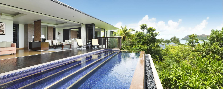Two bedroom ocean view pool