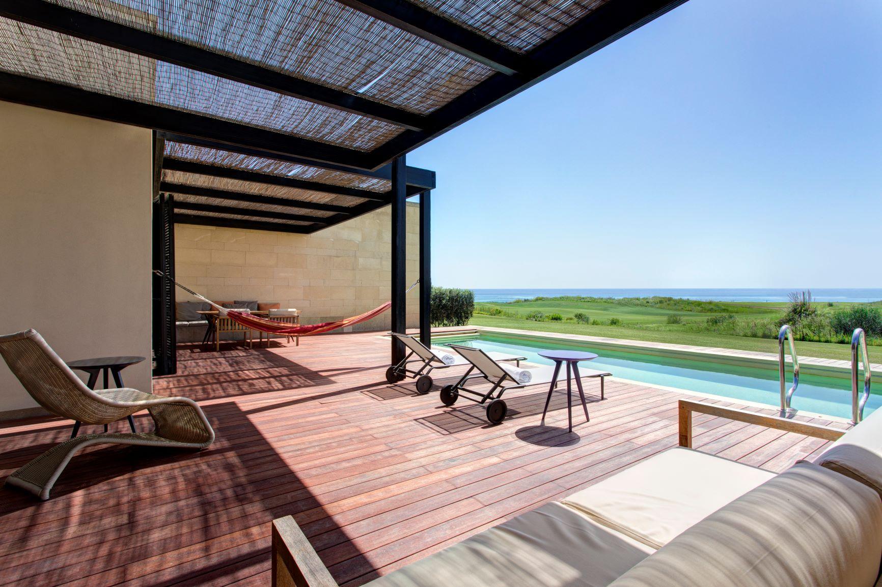 Villa Peonia swimming pool