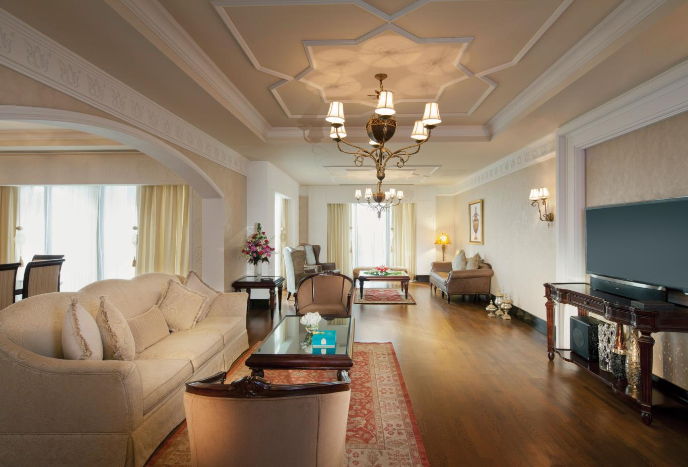 Seafront Royal Residences Living Room