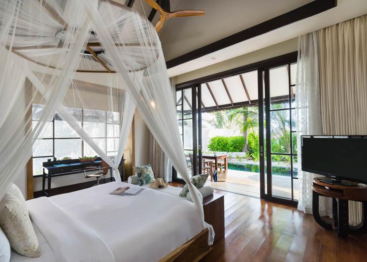 Two bed beach villa master
