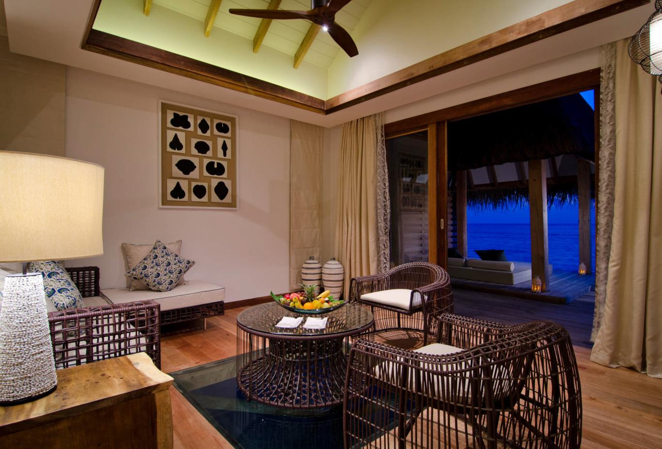 Water Villas with Pool Interior