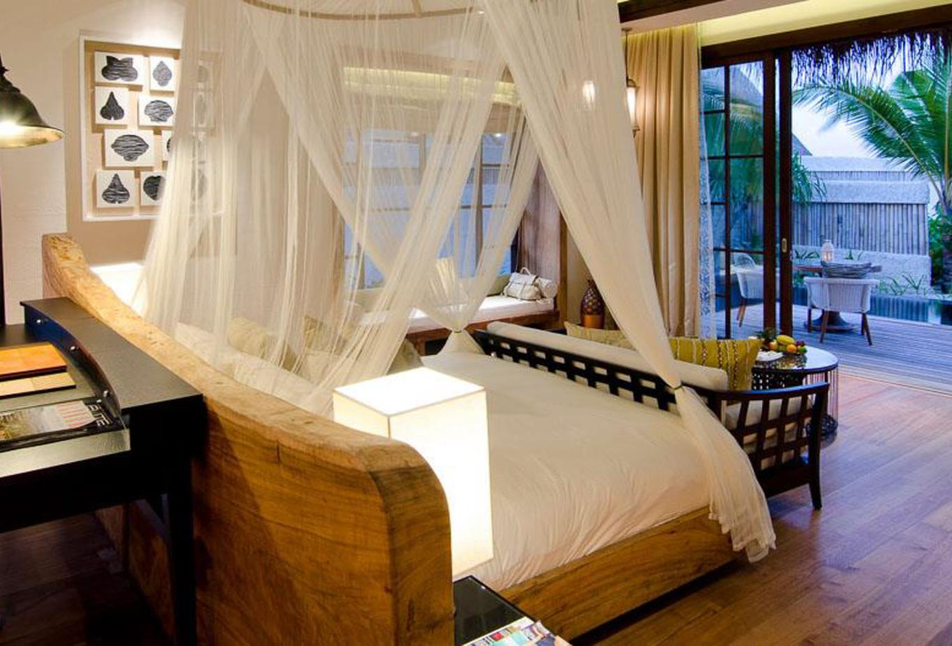 Two bed beach villa bedroom 2