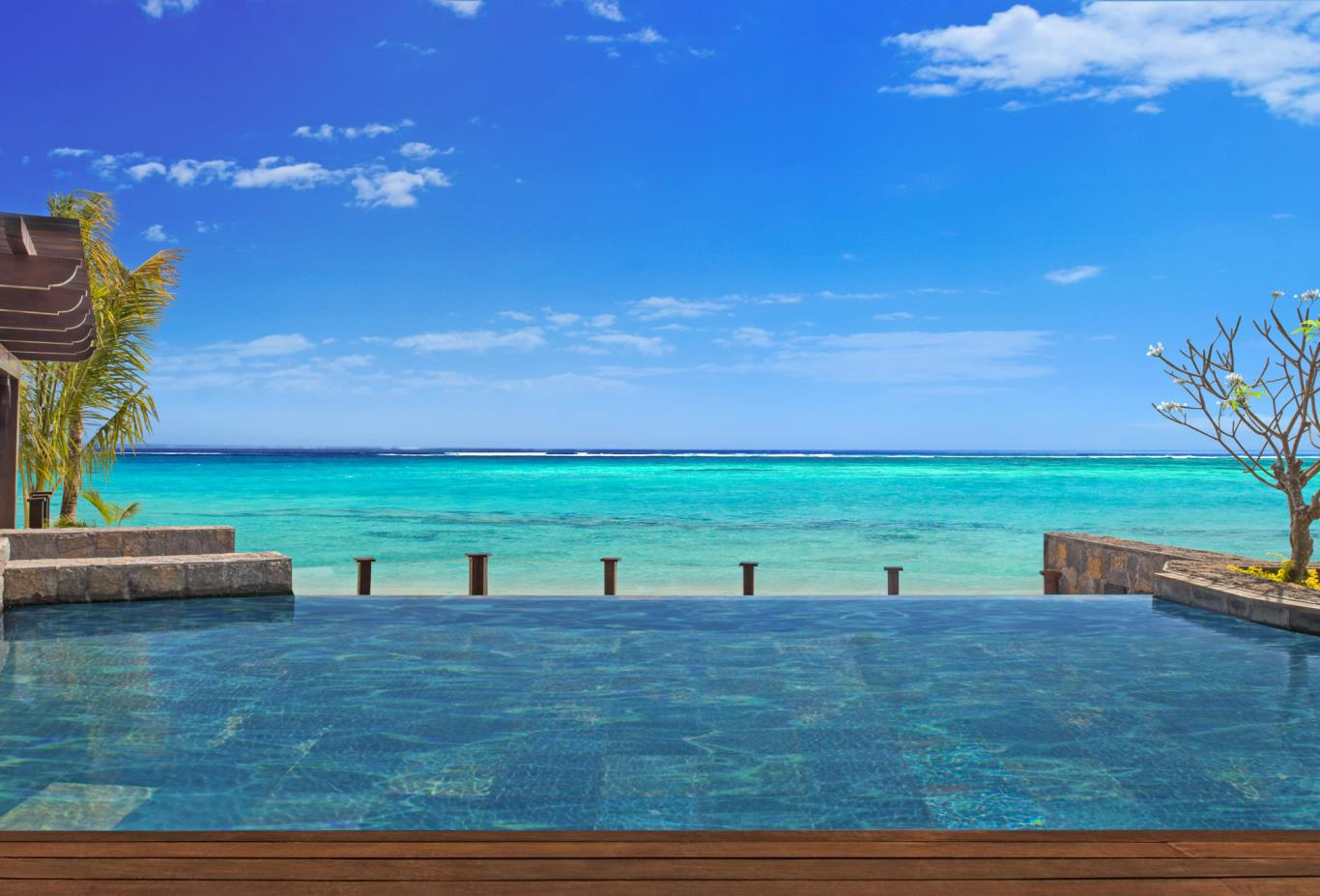 The St Regis Villa infinity pool