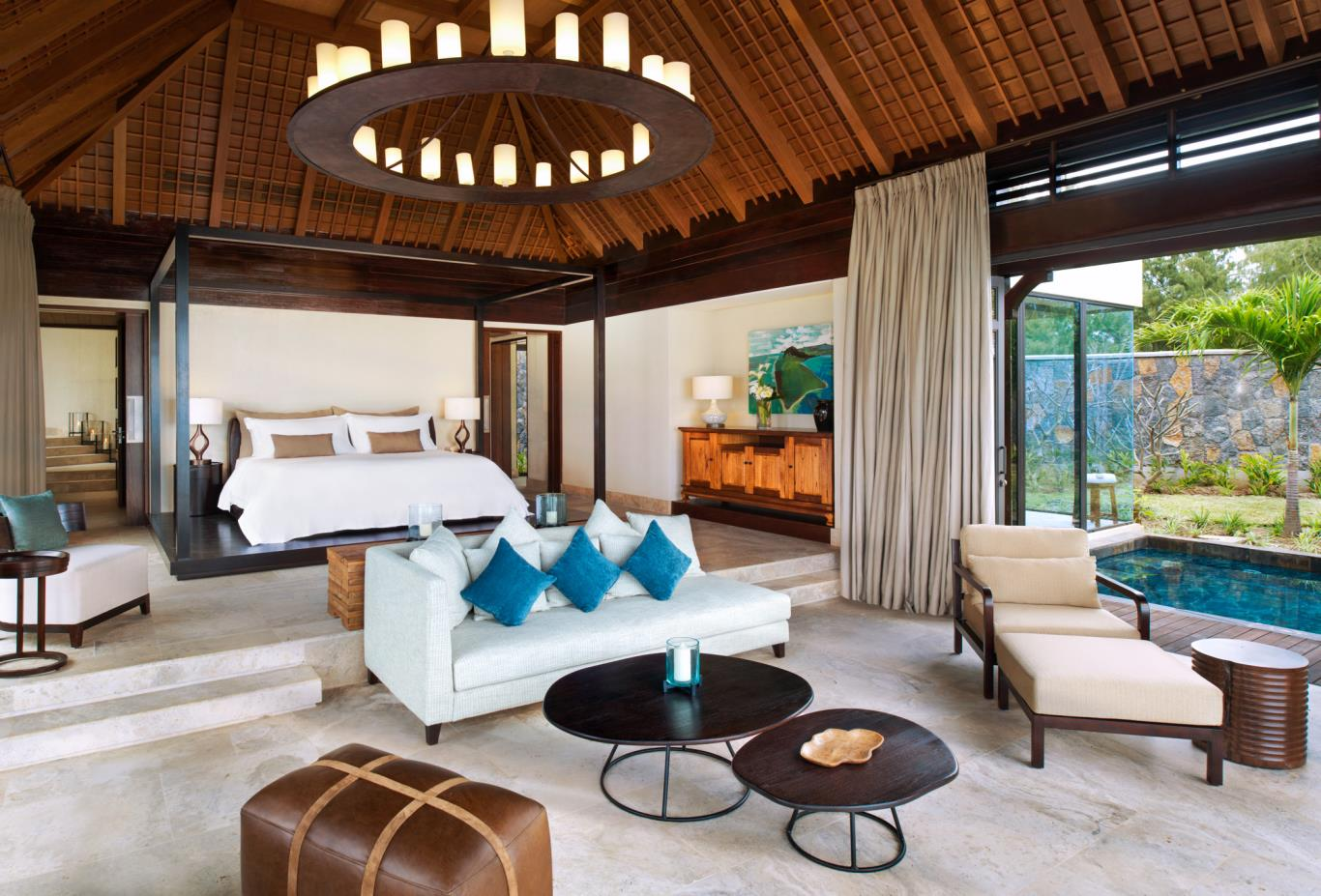 The St Regis Villa master bedroom