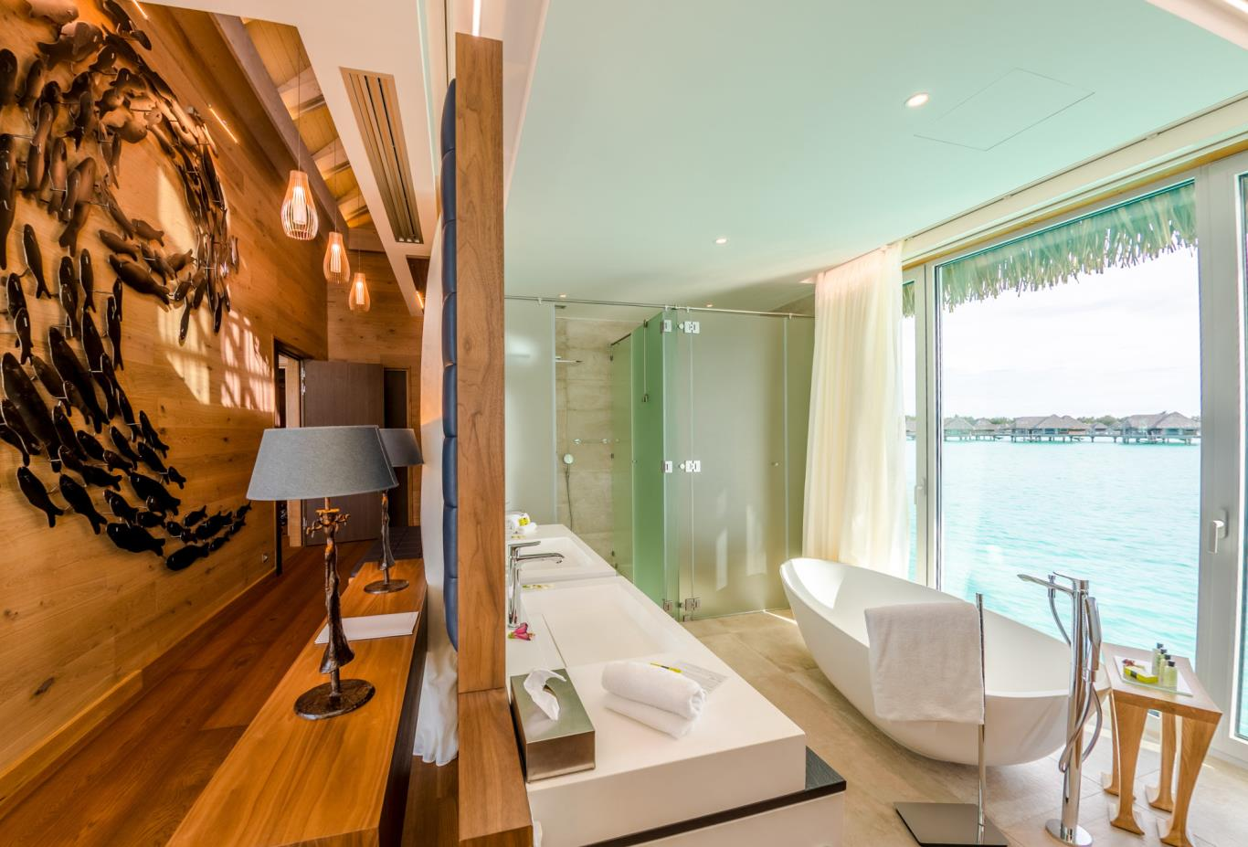 Brando Suite Bora Bora Bathroom