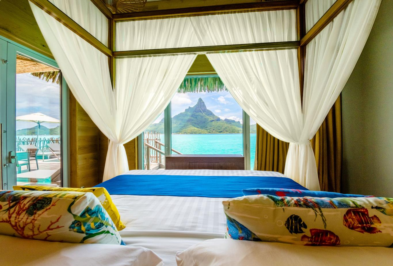 Brando Suite Bora Bora Bedroom