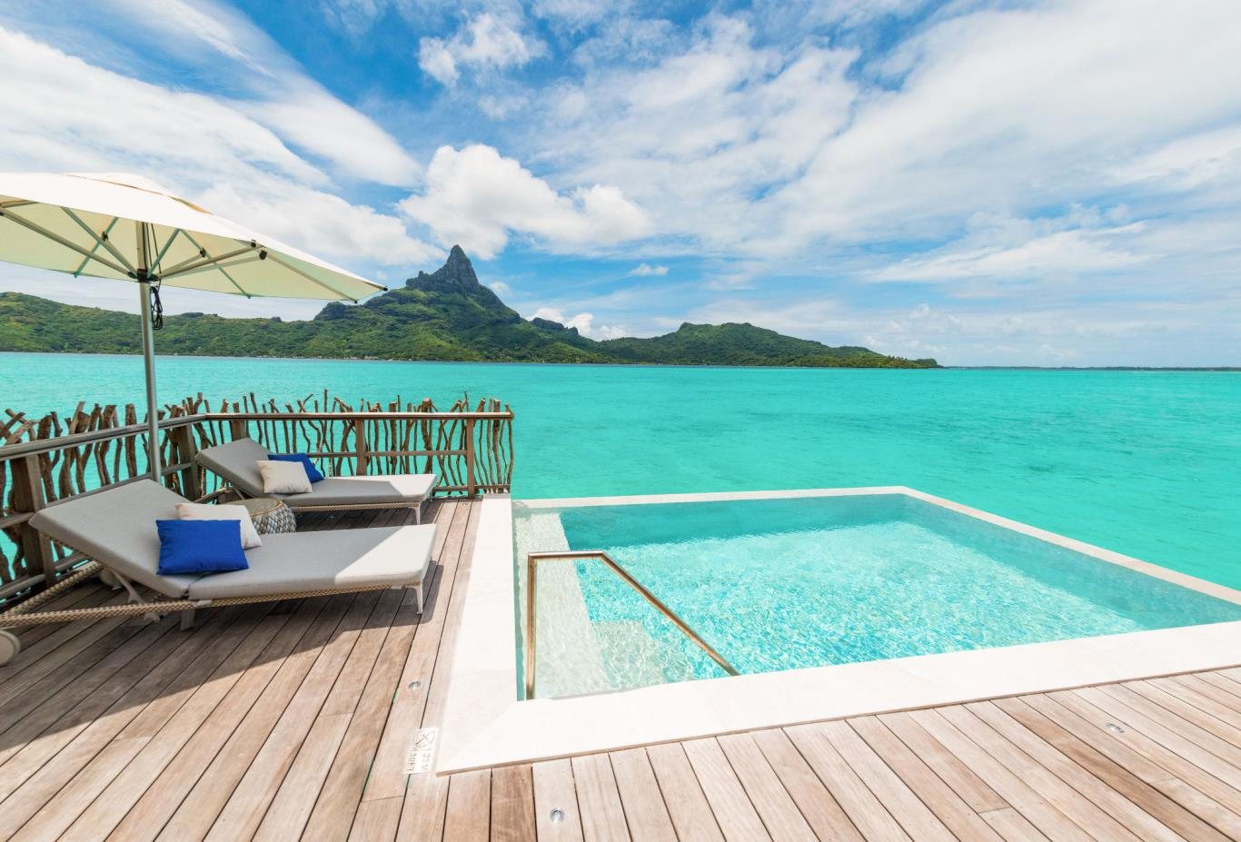 Brando Suite Bora Bora Pool