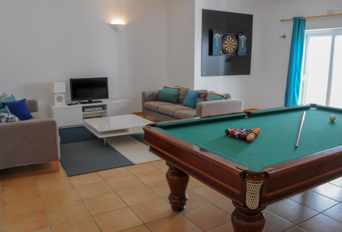 Villa 48 games room