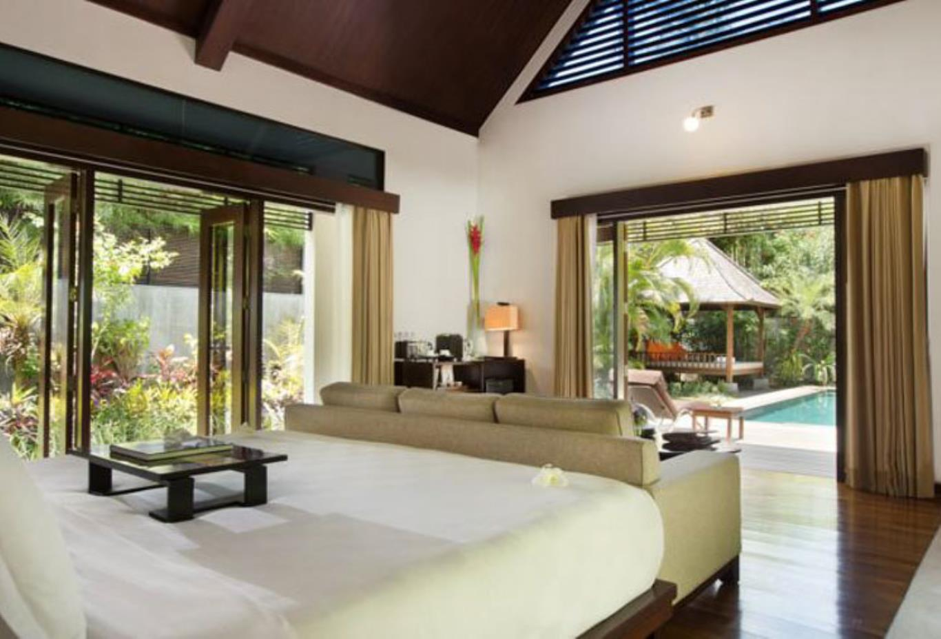 Hill view villa bedroom