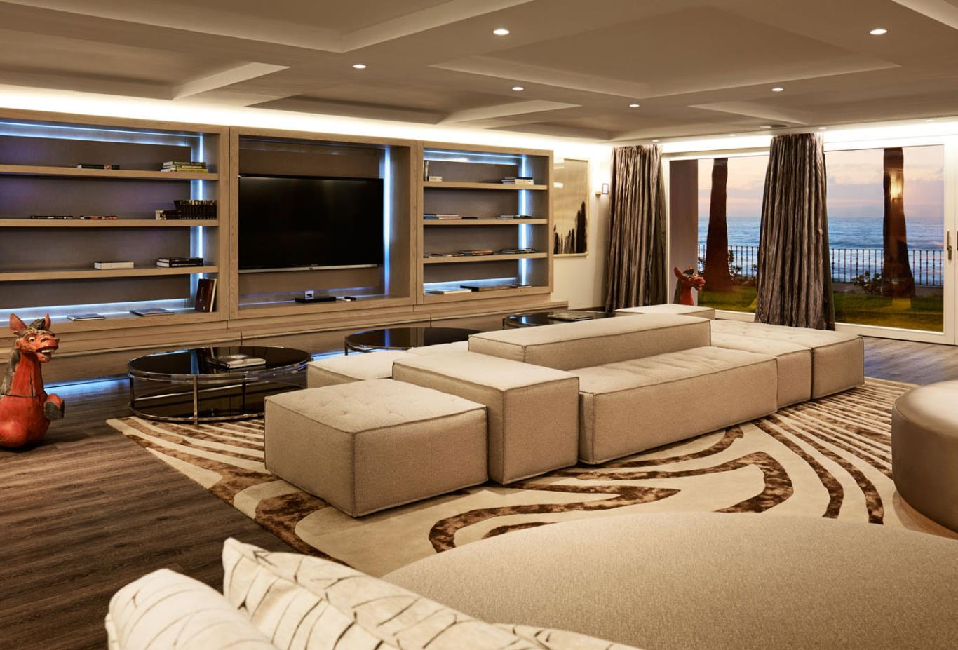 Villa Del Mar - Basement Livingroom/Cinemaroom