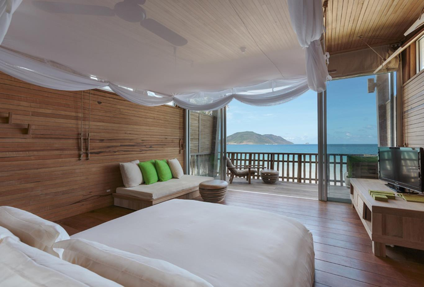 Ocean View Duplex Pool Villa bedroom