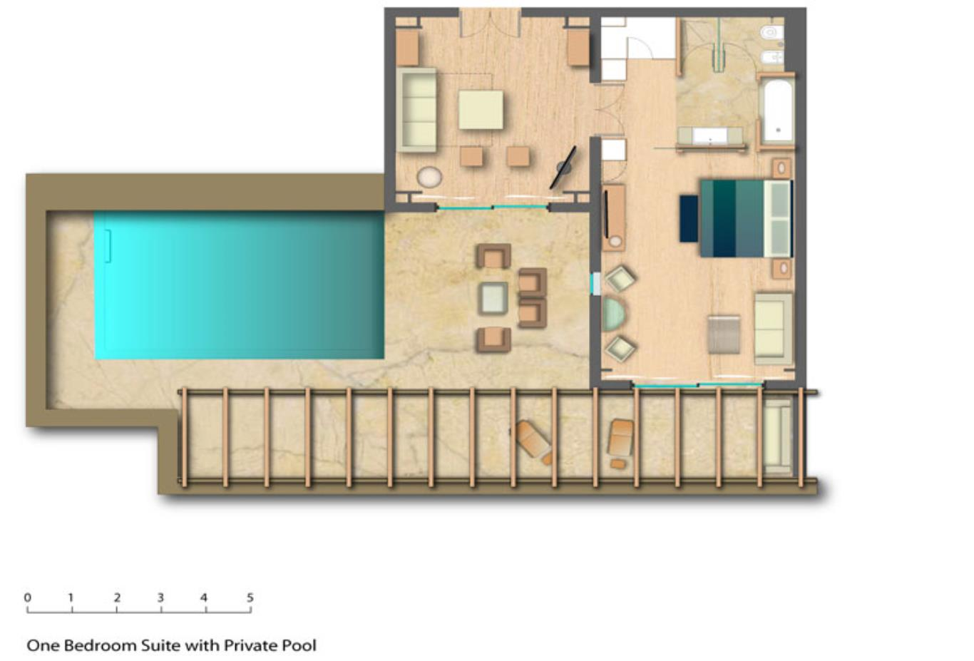 Floorplanone-bed-suite-with-pool