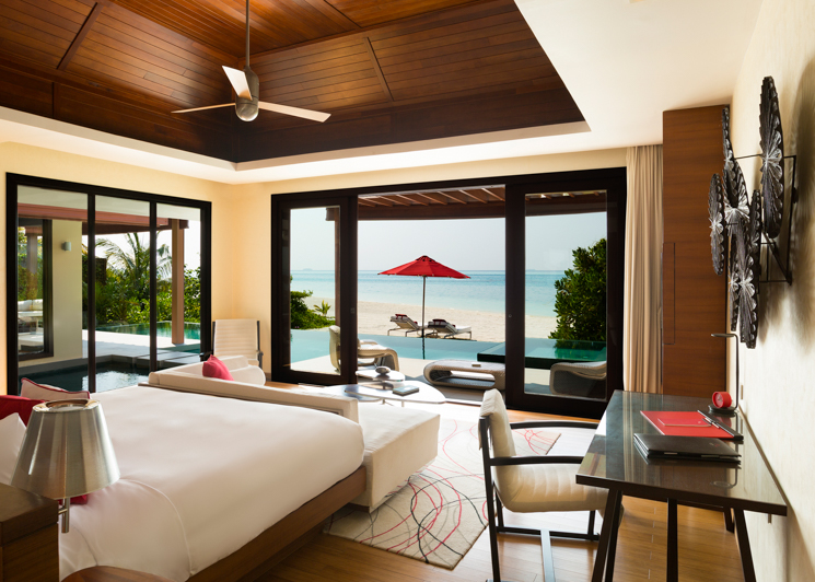 One Bedroom Beach Pool Pavilion bedroom