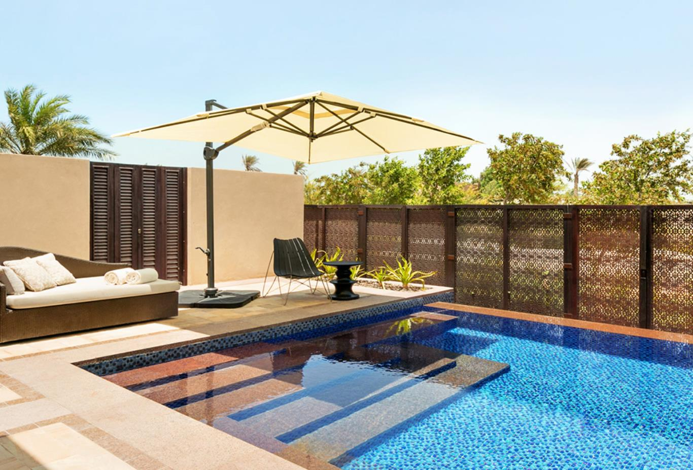 Garden View Suite Terrace with Plunge Pool