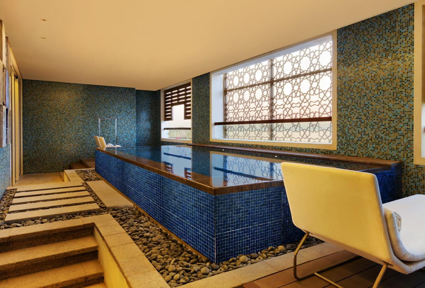 Presidential Suite Balcony with Plunge Pool