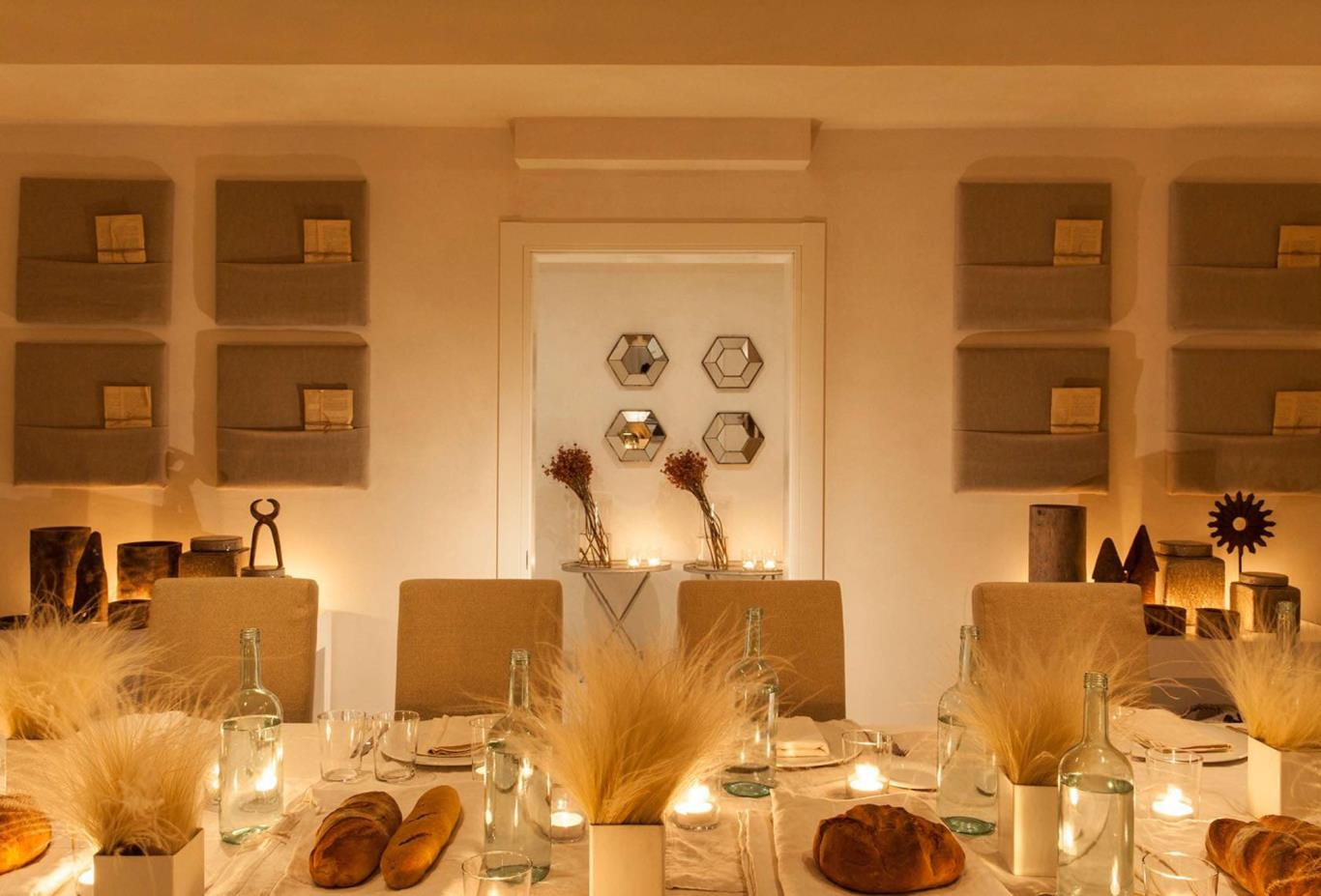 Villa Padronale dining