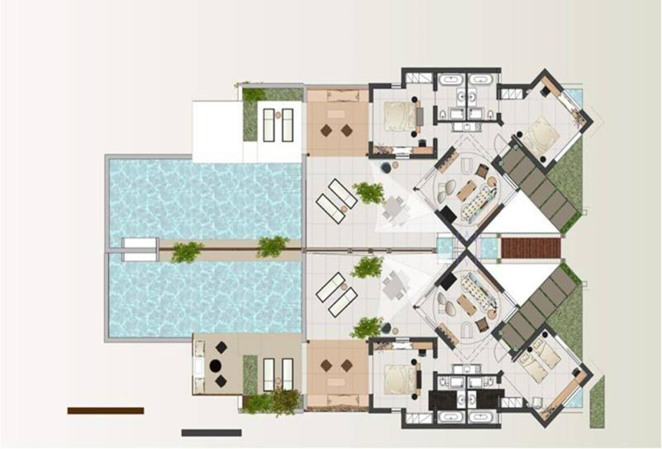 Luxury Residence floorplan