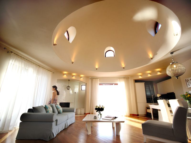 Domes Luxury Villa 2 Bedrooms with Private Pool Living Room