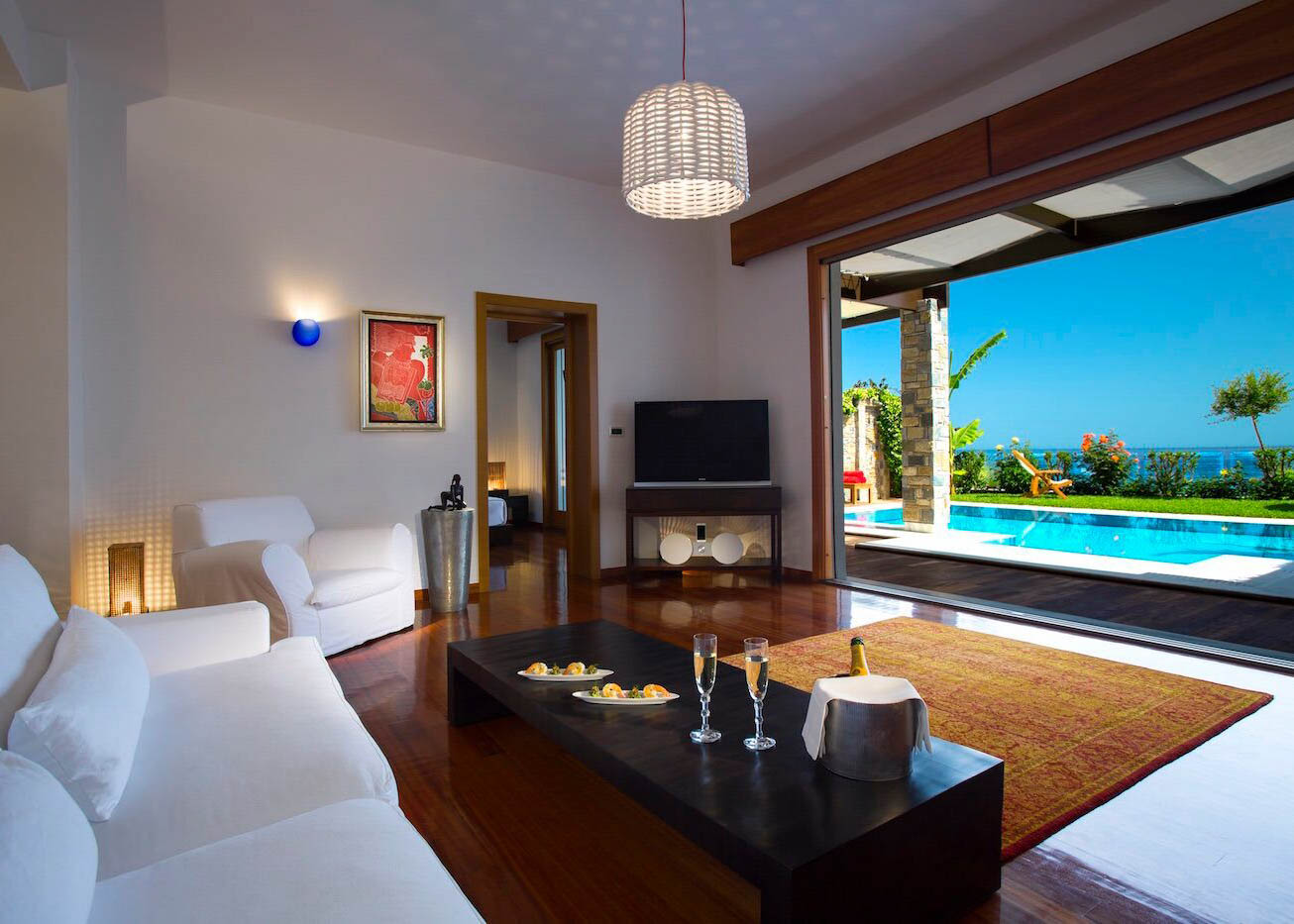 Presidential Spa Villa   Living Room
