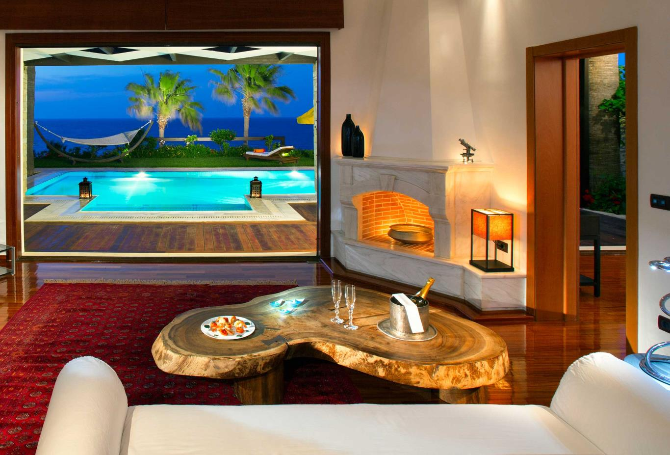 Imperial Spa Villa Living Room