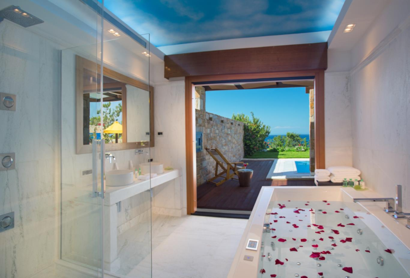 One Royal Spa Villa bathroom