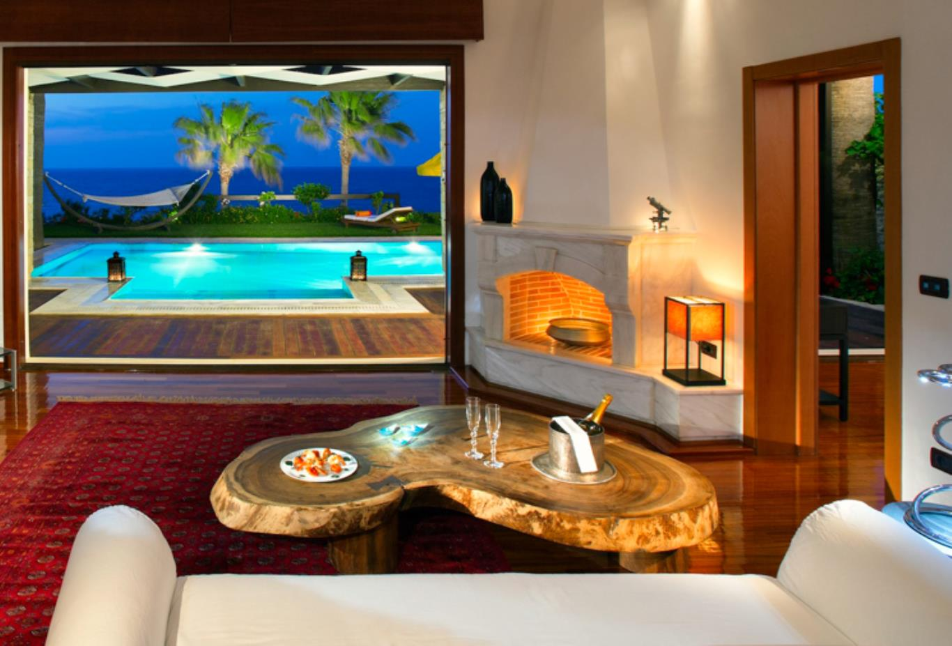 Royal Spa Villa living room