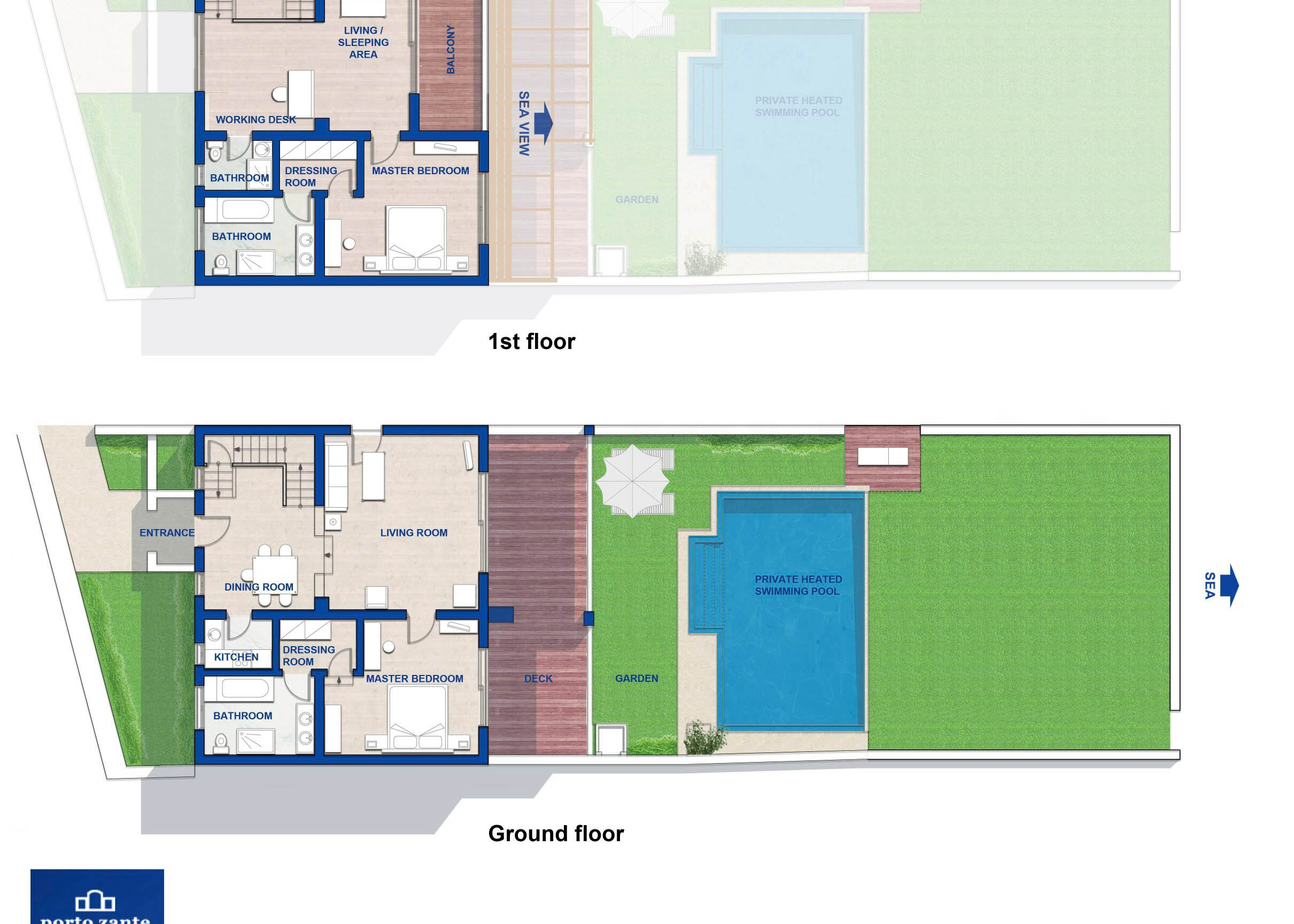 Grand Presidential Spa Villa   Floorplan