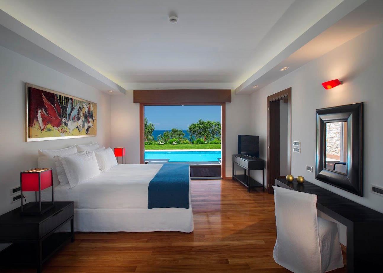 Onne royal spa villa bedroom