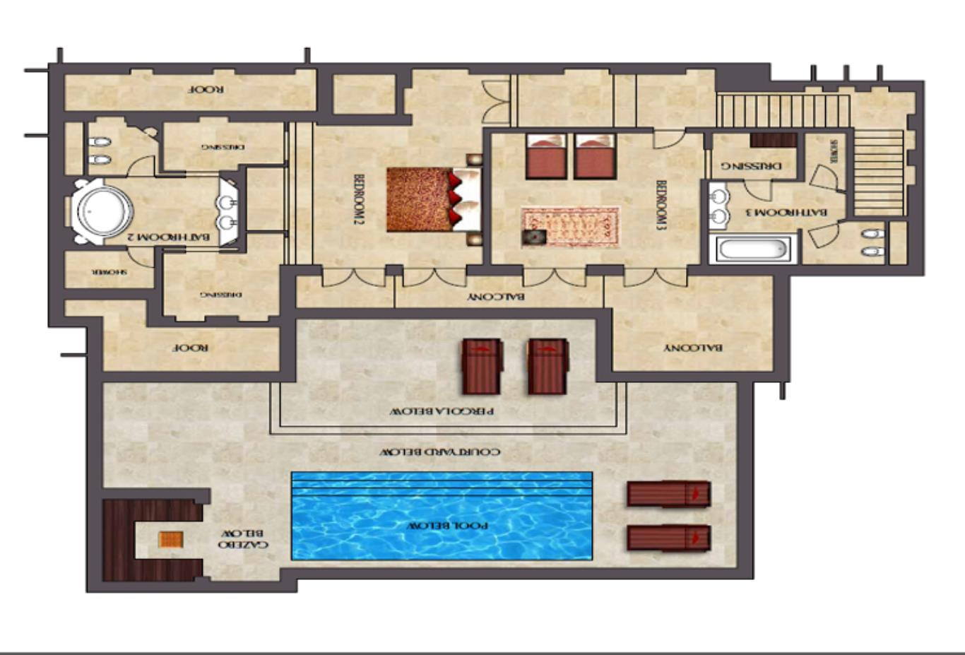 Floorplan-First-floor-three-bedroom-villa2