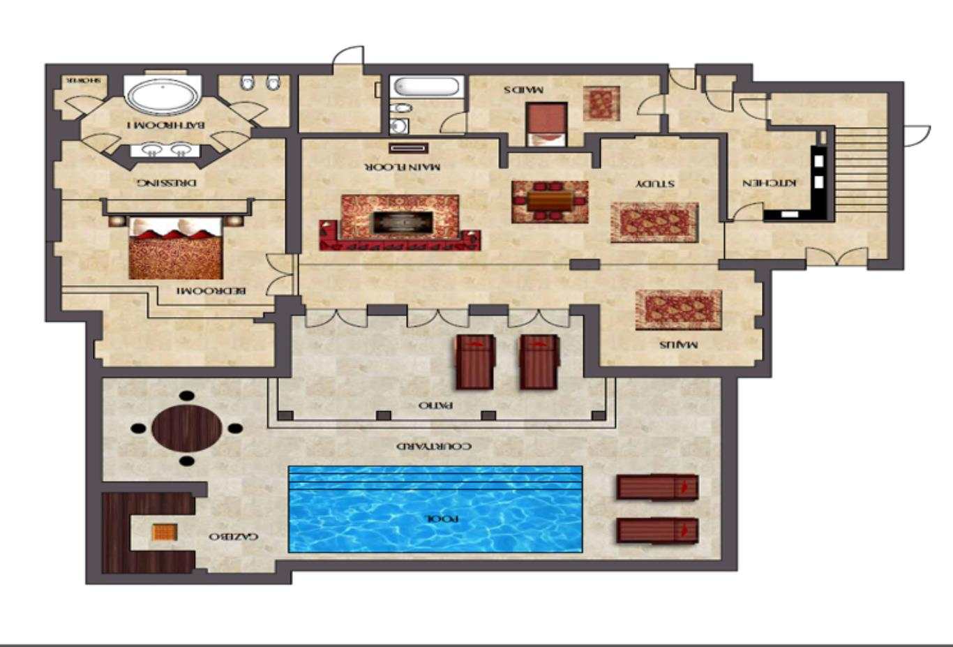 Floorplan-ground-floor-three-bedroom-villa