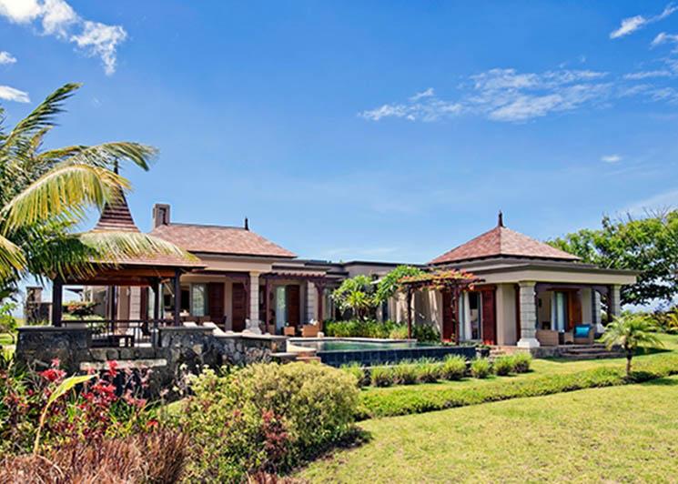 Three bedroom pool villa exterior