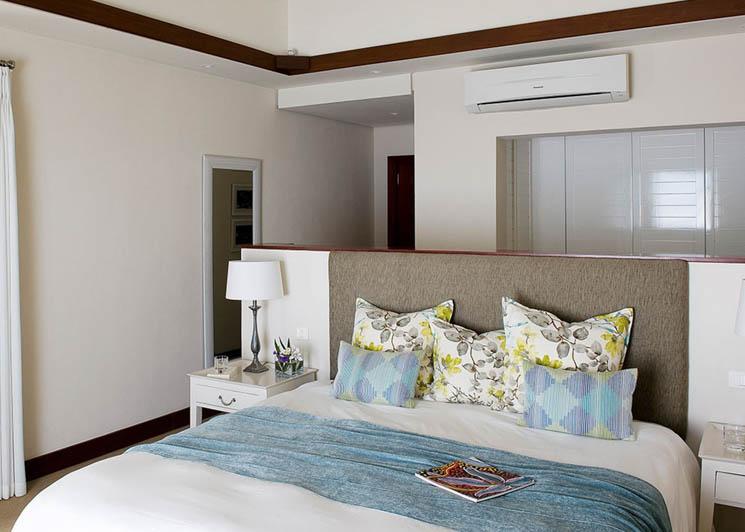 Three bedroom pool villa bedroom