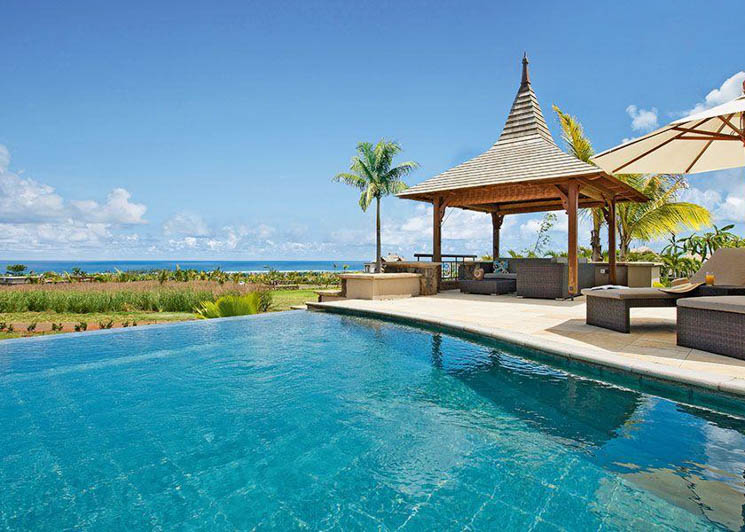 Four Bedroom Ocean view pool and pavilion