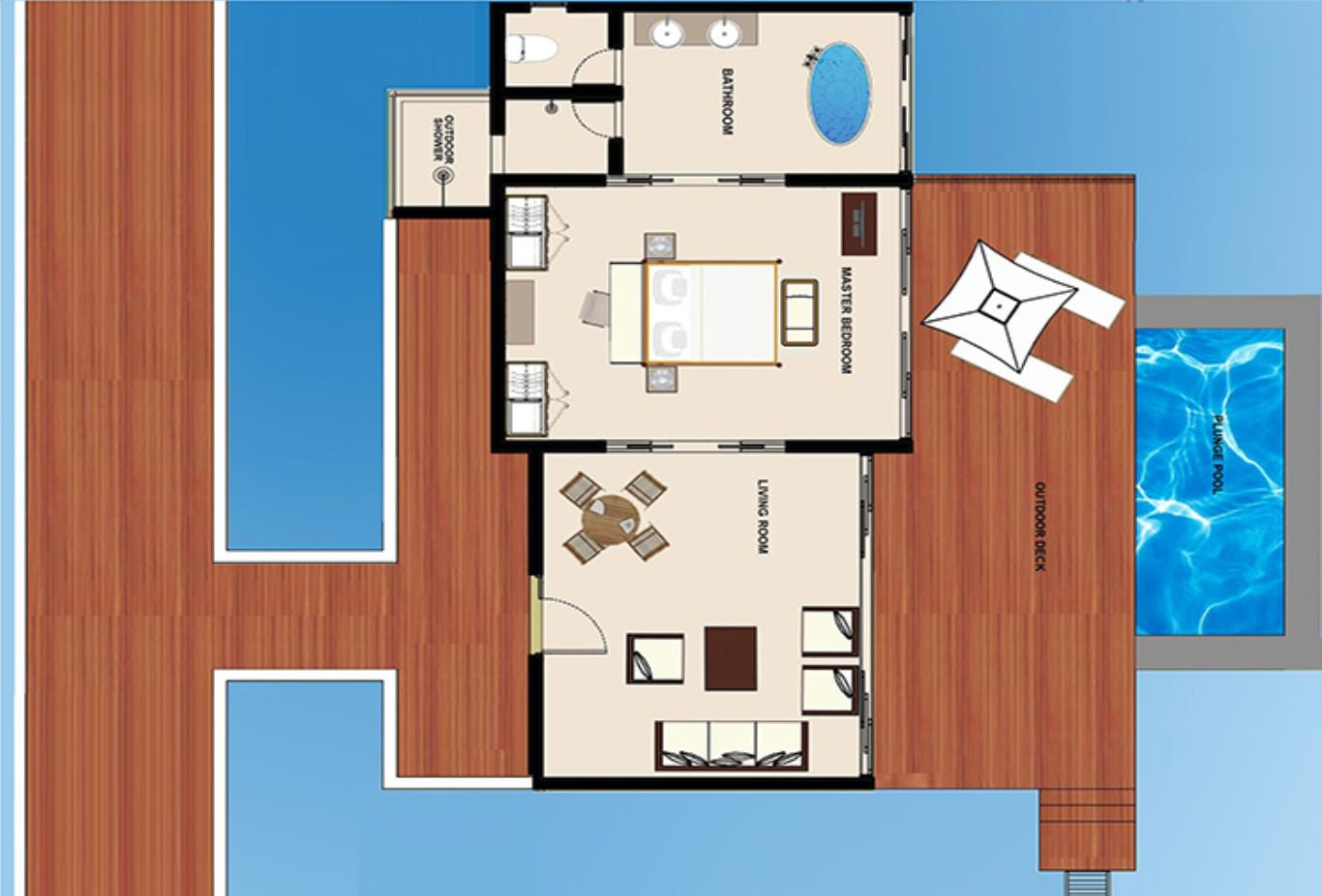 Floorplan-Deluxe-Water-Pool-Villa