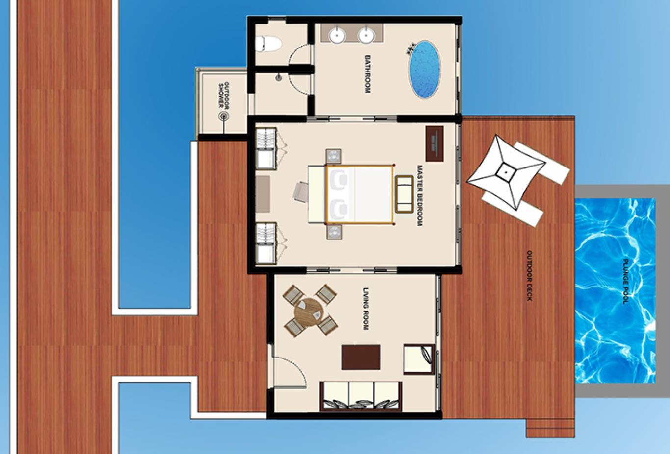 Floorplan-Water-Pool-Villa