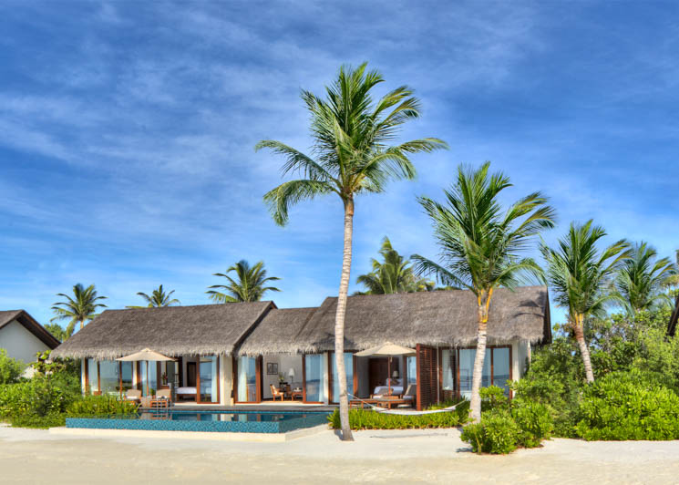2 Bedroom Beach Pool Villa exterior